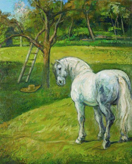 Avril, le Repos - 100 x 81 cm