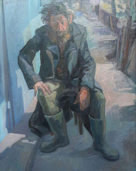 Coco le vagabond (Huile sur toile) - 100 x 81 cm