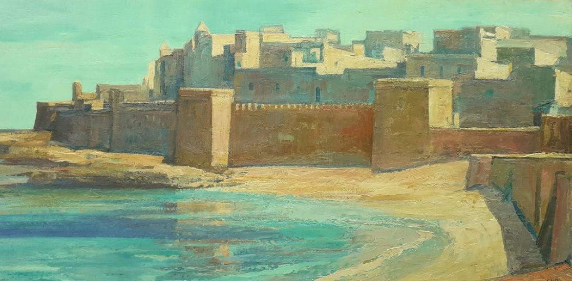 Essaouira (Huile sur toile) - 60 x 120 cm