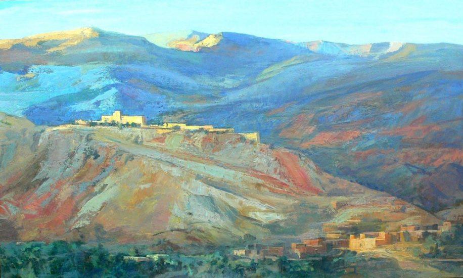 Vallée de l'Ourika - 114 x 162 cm - collection particulière