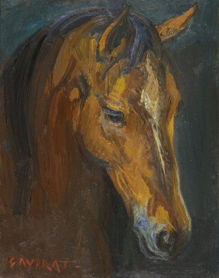 Portrait - 19 x 24 cm - collection particulière