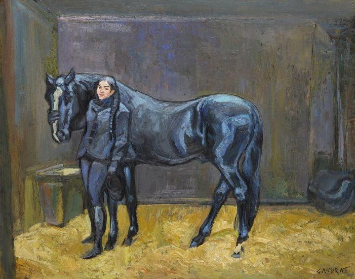 La Belle Écuyère - 32 x 42 cm - collection particulière