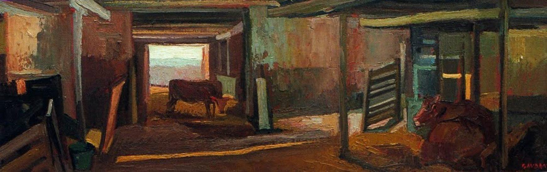 L'étable - 20 x 60 cm