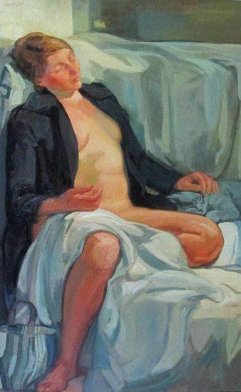 Le songe - 116 x 81 cm
